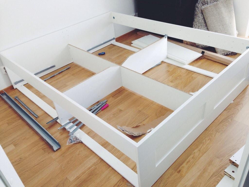 Ikea Brimnes Sängynrunko