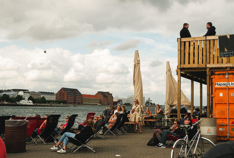 Copenhagen Street Food Market / PapirØen